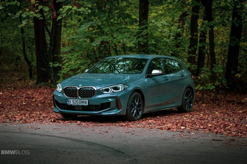 2019 BMW M135i xDrive Review 34 830x553