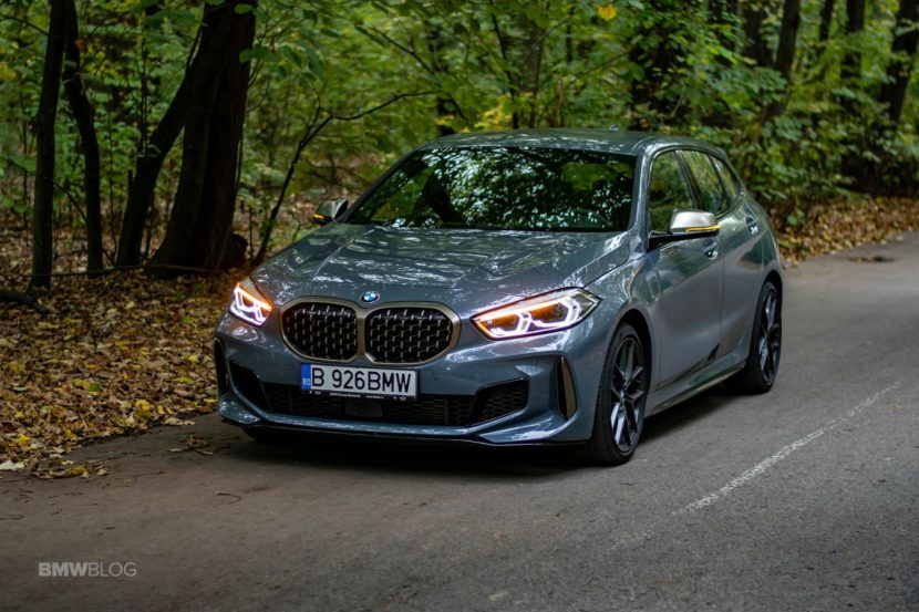 2019 BMW M135i xDrive Review 42 830x553
