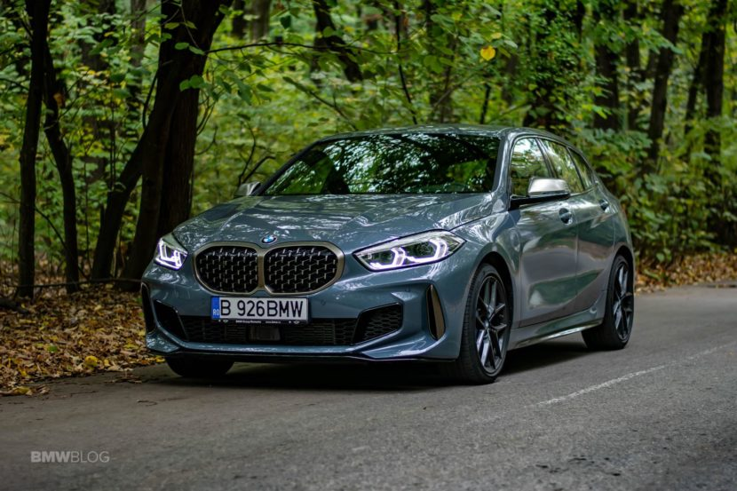 2019 BMW M135i xDrive Review 43 830x553