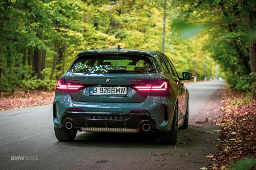 2019 BMW M135i xDrive Review 49 830x553