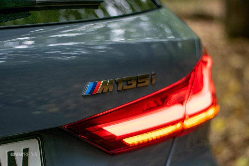 2019 BMW M135i xDrive Review 50 830x553