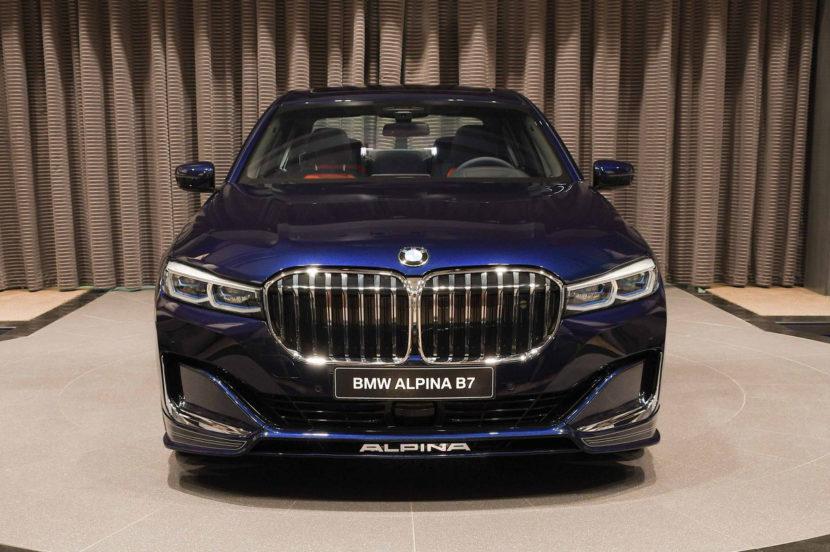 2020 BMW Alpina B7 Tanzanite Blue 1 830x552