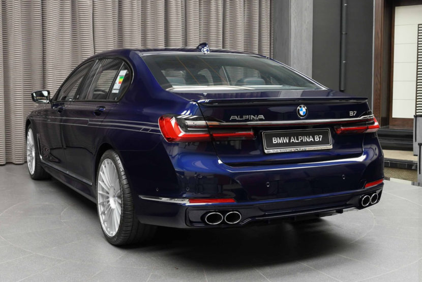2020 BMW Alpina B7 Tanzanite Blue 4 830x555