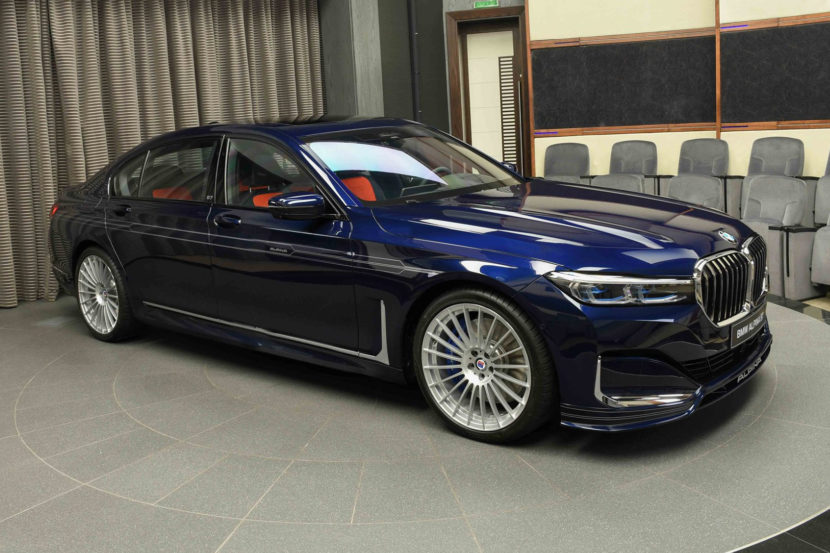 2020 BMW Alpina B7 Tanzanite Blue 830x553