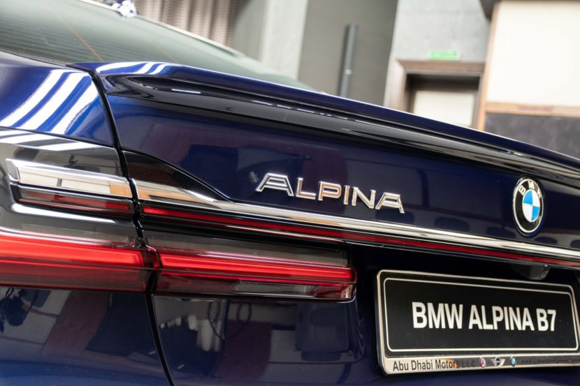 2020 BMW Alpina B7 Tanzanite Blue 9 830x553