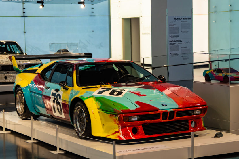 Andy Warhol BMW M1 830x553