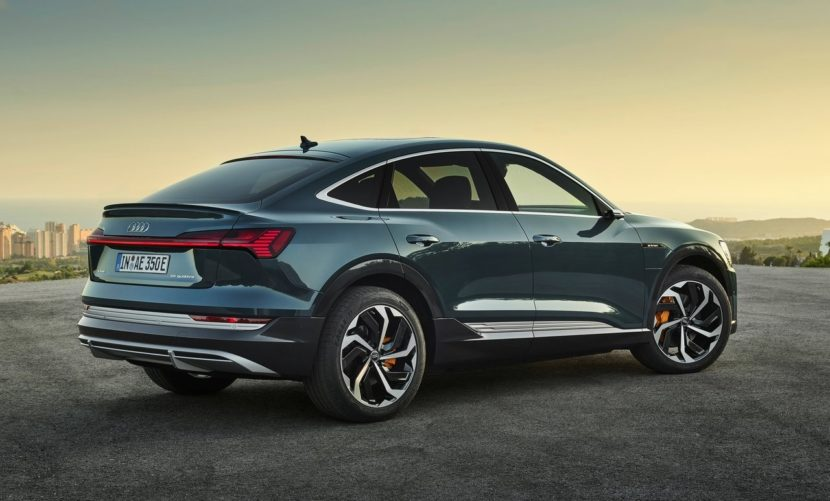 Audi e tron Sportback 2021 1280 0d 830x501