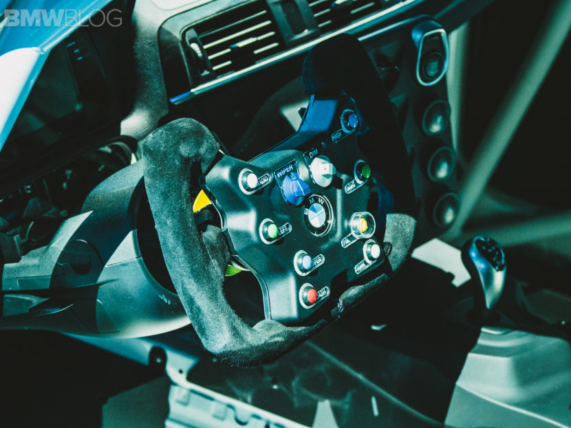 BMW M2 CS Racing steering wheel 2 830x623