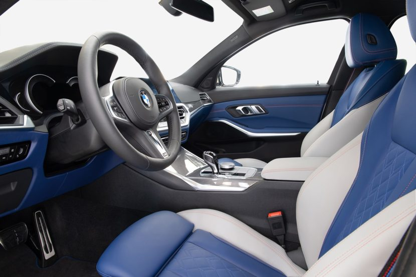 Have a look inside the BMW M340i xDrive First Edition