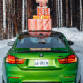 BMW Merry Christmas Holidays 120x120