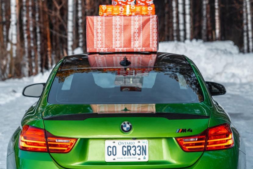 BMW Merry Christmas Holidays 830x553