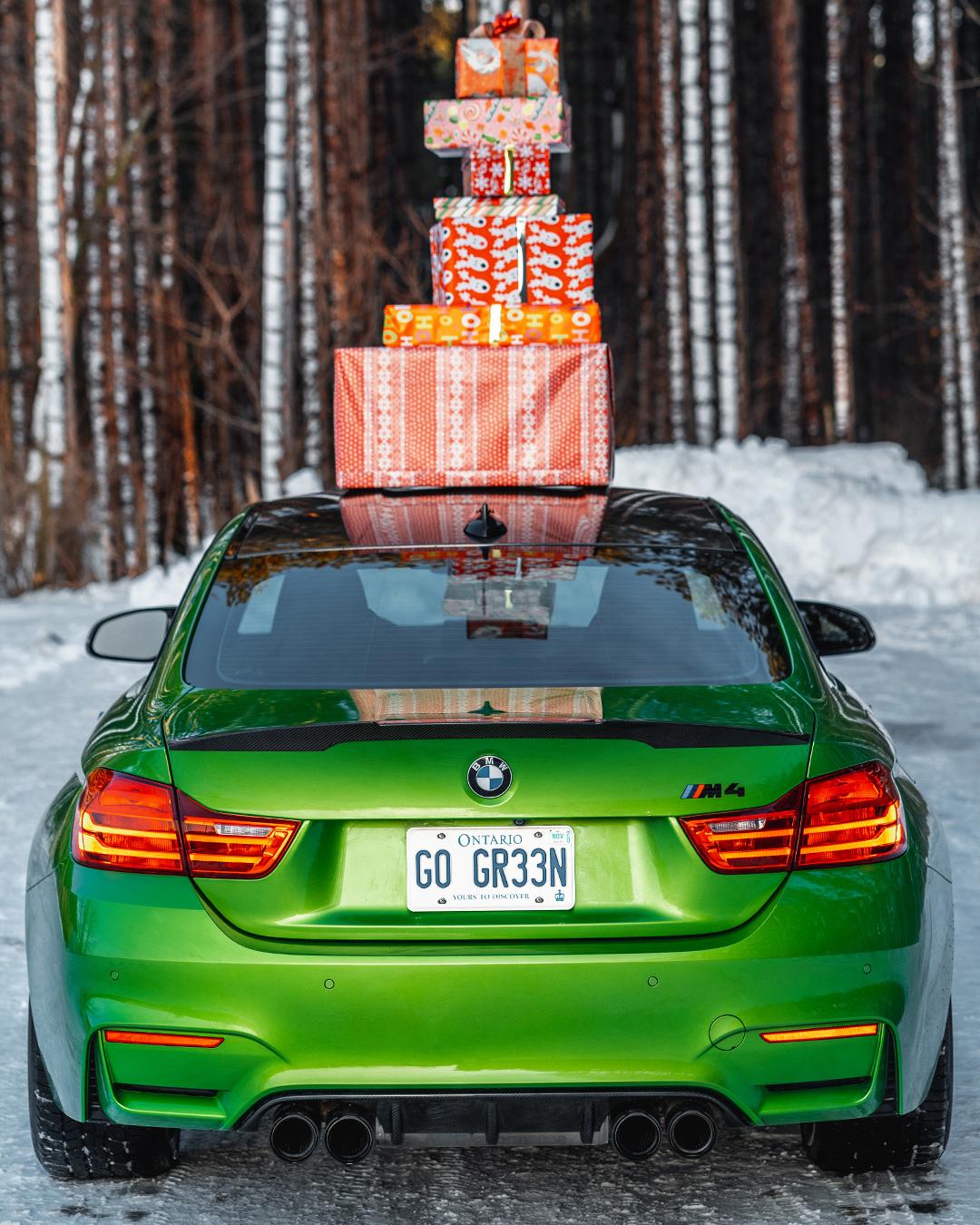 BMW Merry Christmas Holidays