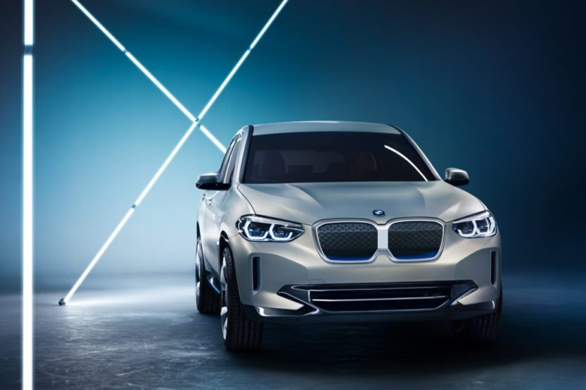 BMW iX3 pictured with separated kidneys 830x553