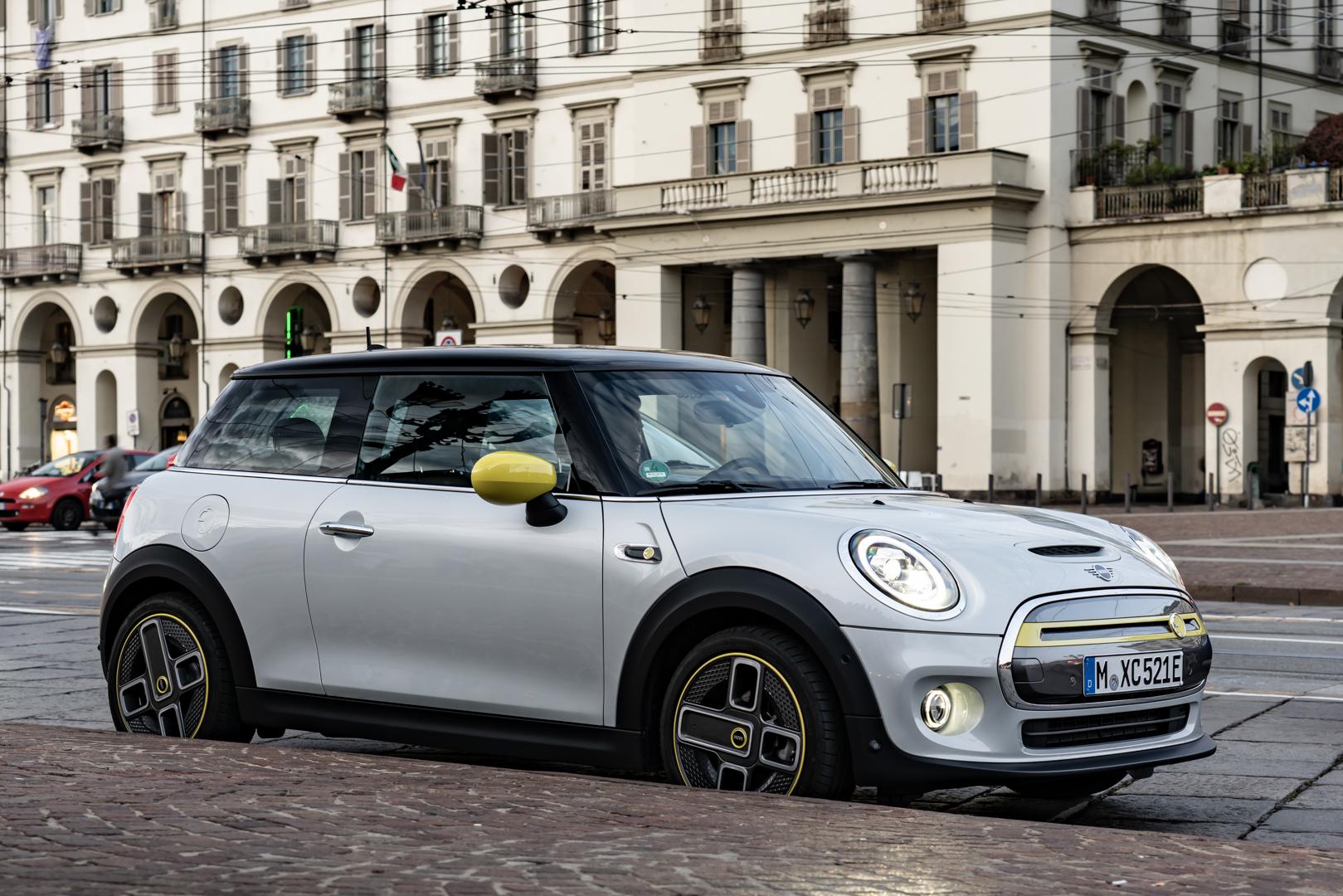 MINI Cooper SE Turin Italy 2