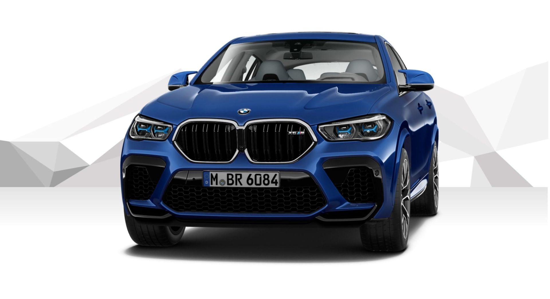 Marina Bay Blue BMW X6 M F96 5 scaled e1575315956502