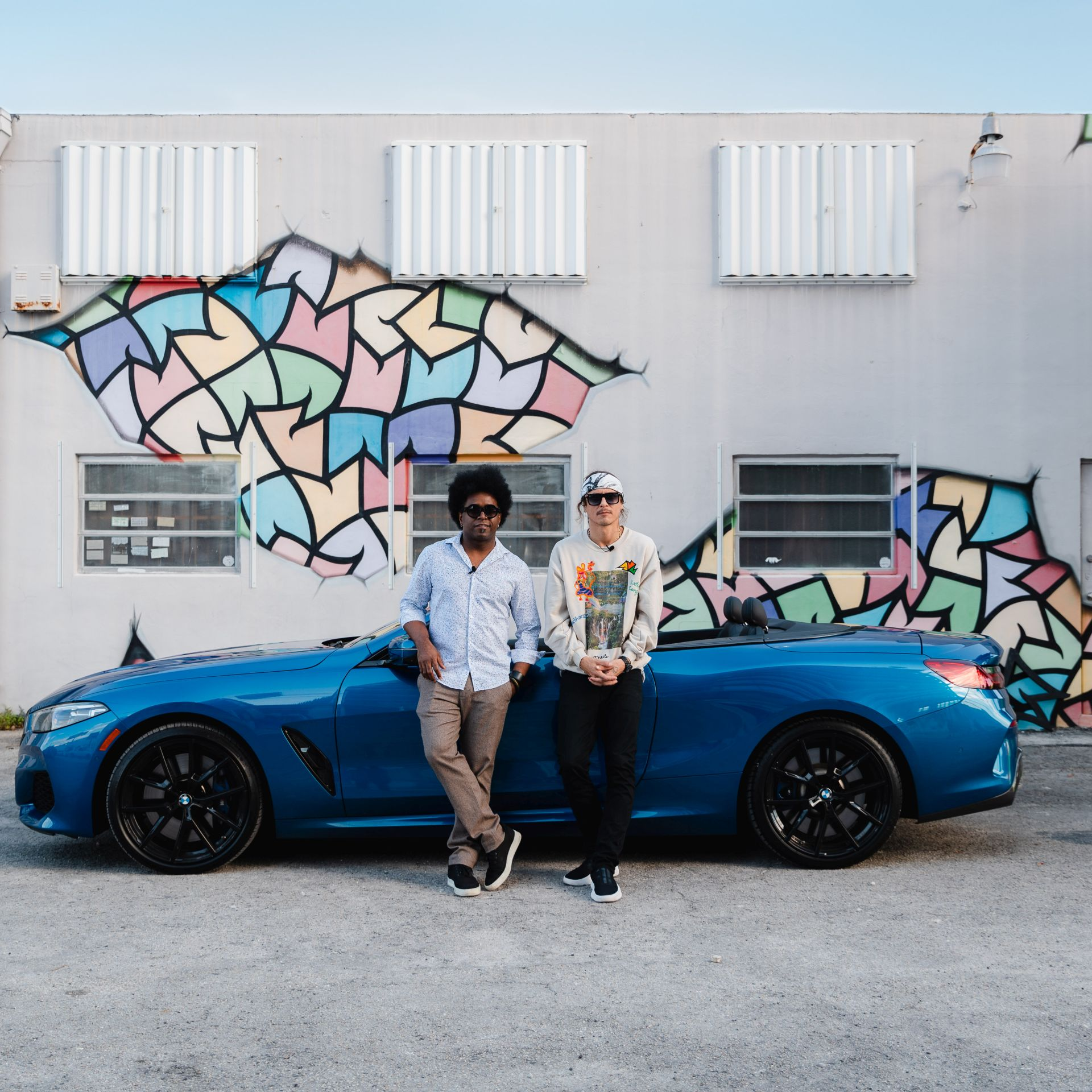 Photo Gallery: BMW M850i xDrive Convertible goes Art Cruising in Miami