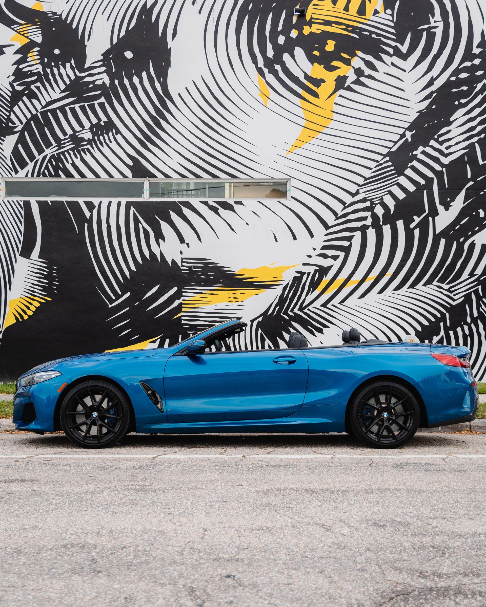 Photo Gallery: BMW M850i XDrive Convertible Goes Art