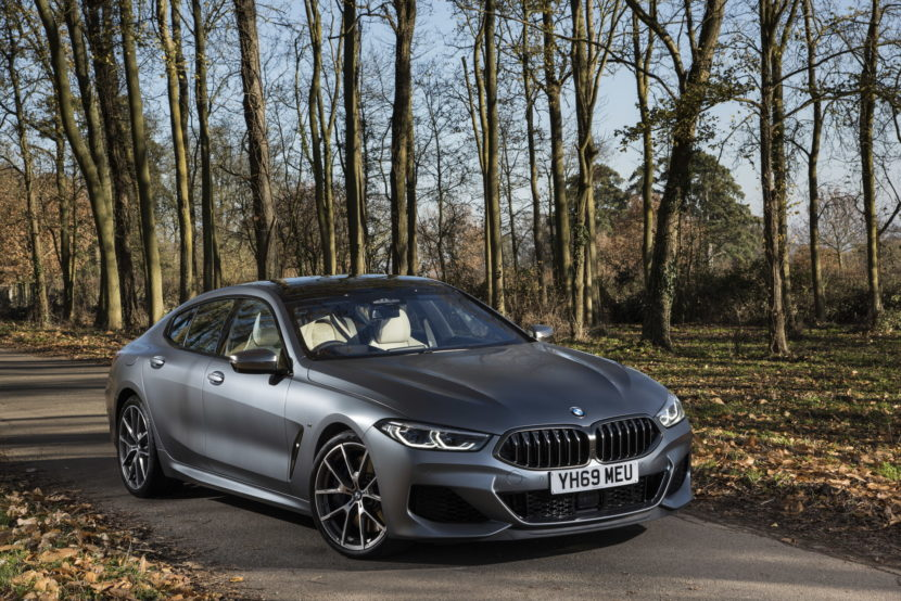 The New BMW 8 Series Gran Coupe UK 5 830x554