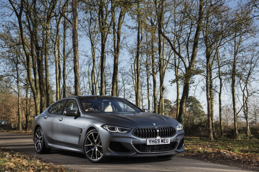 The New BMW 8 Series Gran Coupe UK 6 830x553