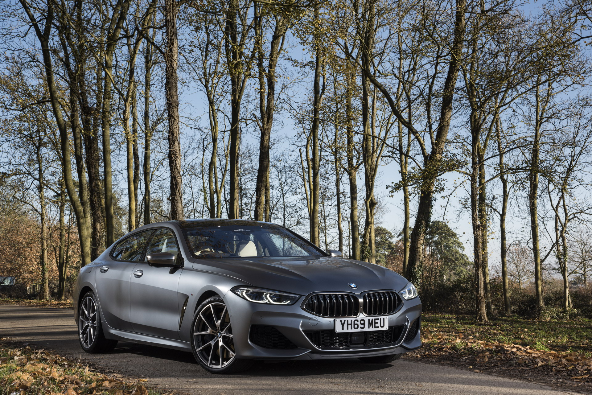 The New BMW 8 Series Gran Coupe UK 6
