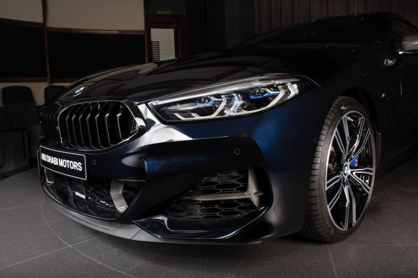 The New BMW M850i xDrive Gran Coupe in Carbon Black 10 830x553