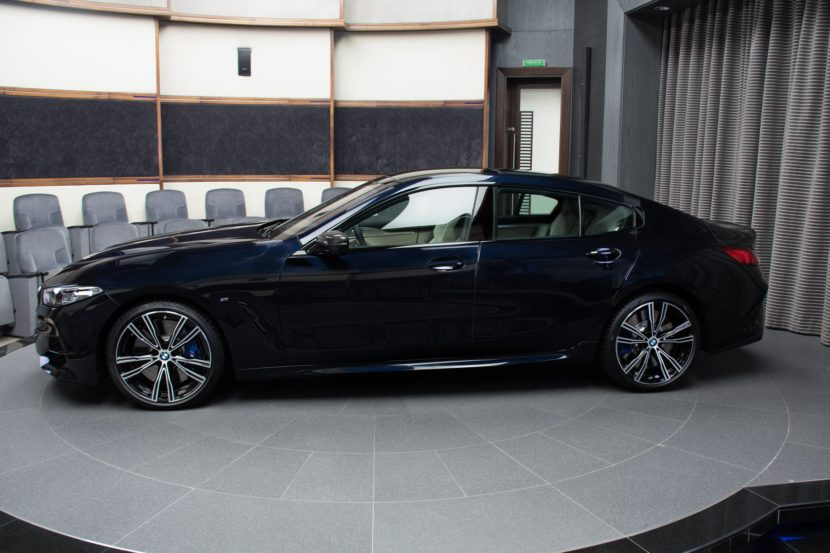 The New BMW M850i xDrive Gran Coupe in Carbon Black 15 830x553