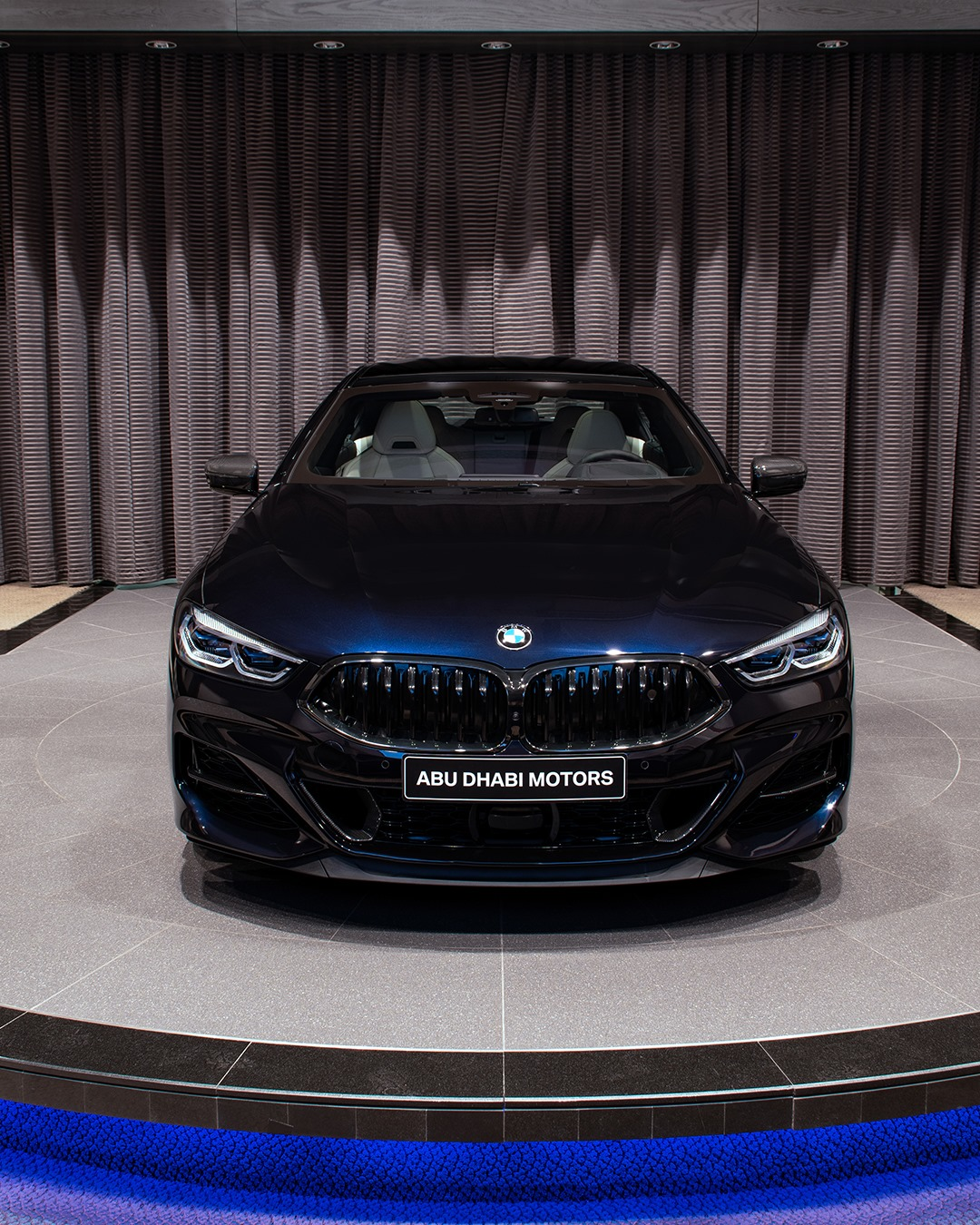 The New BMW M850i xDrive Gran Coupe in Carbon Black 22