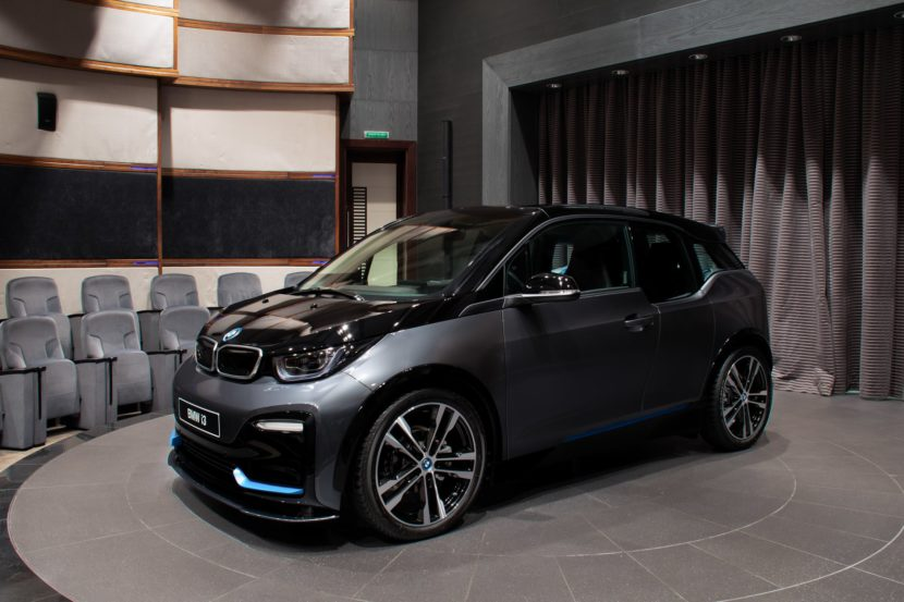 The new 2020 BMW i3s in Mineral Grey Abu Dhabi Dealership 15 830x553