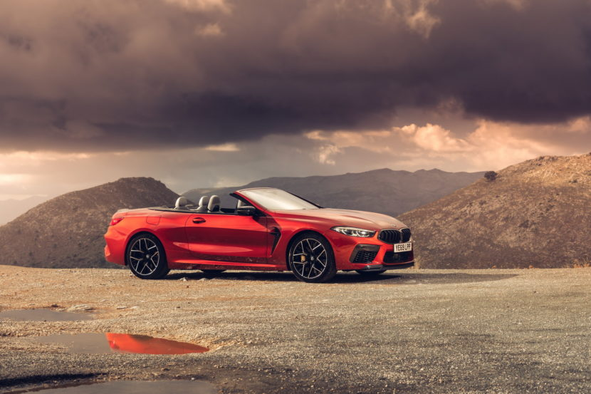 The new BMW M8 Competition Models UK 12 830x553