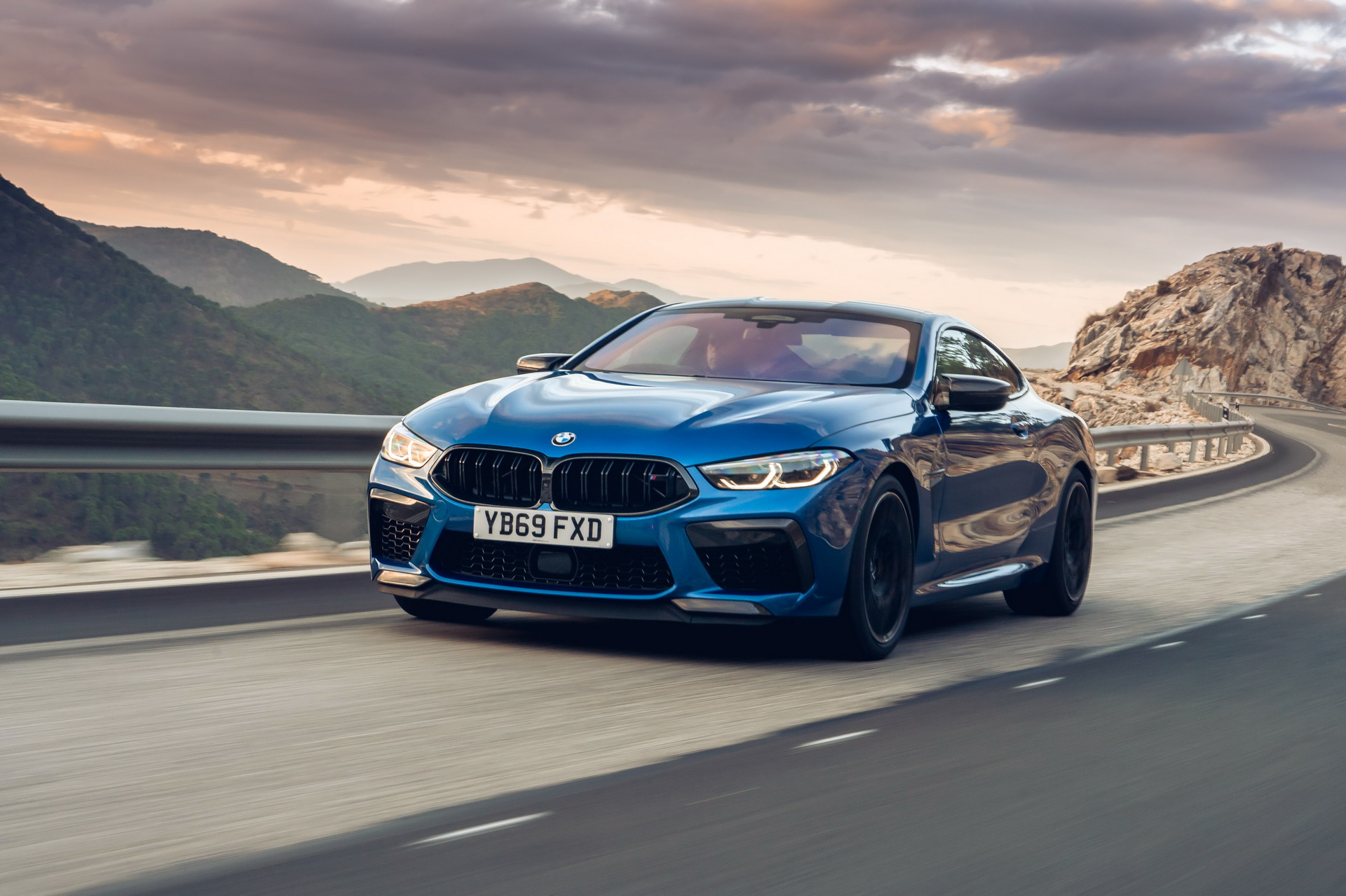 The new BMW M8 Competition Models UK 42
