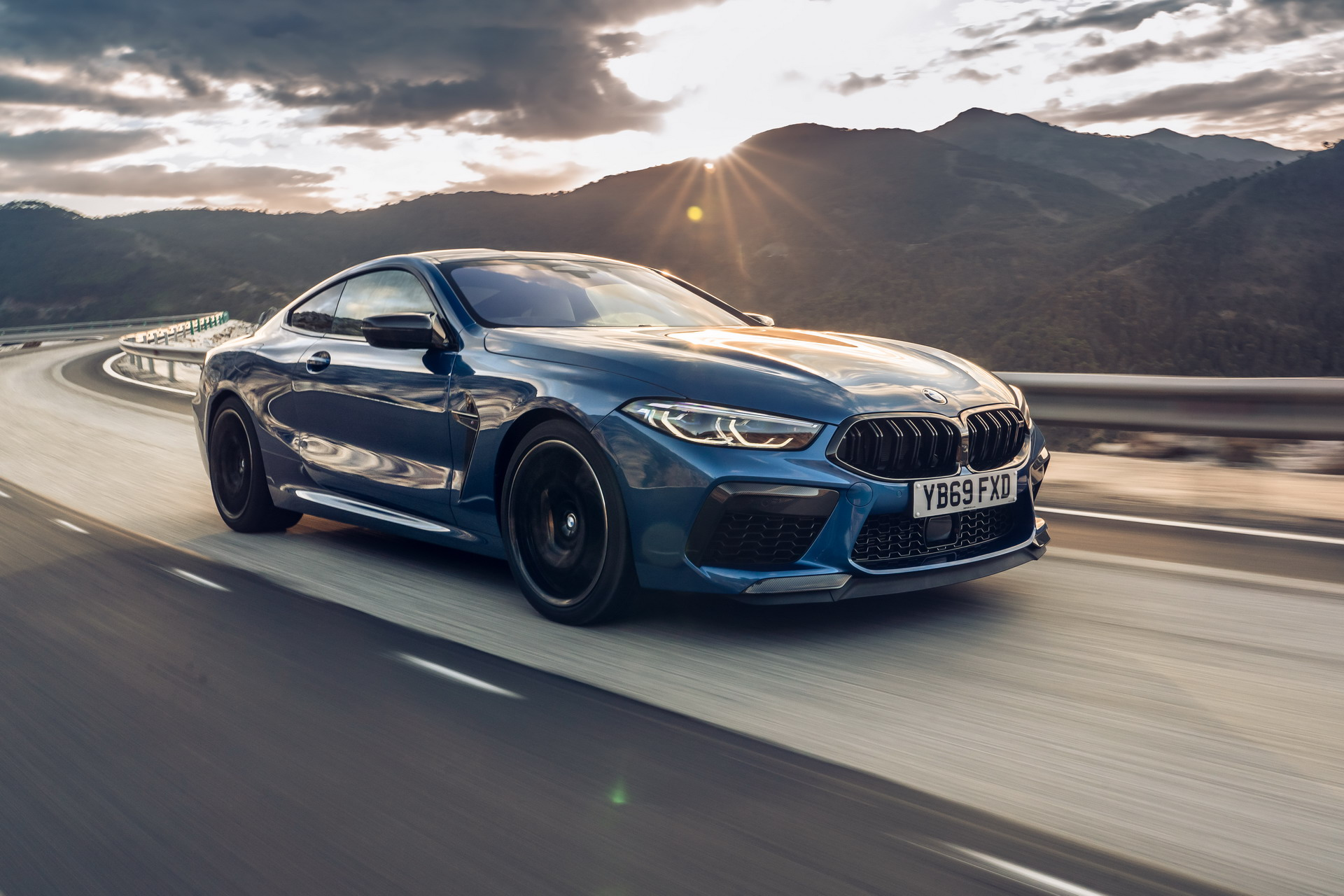The new BMW M8 Competition Models UK 43