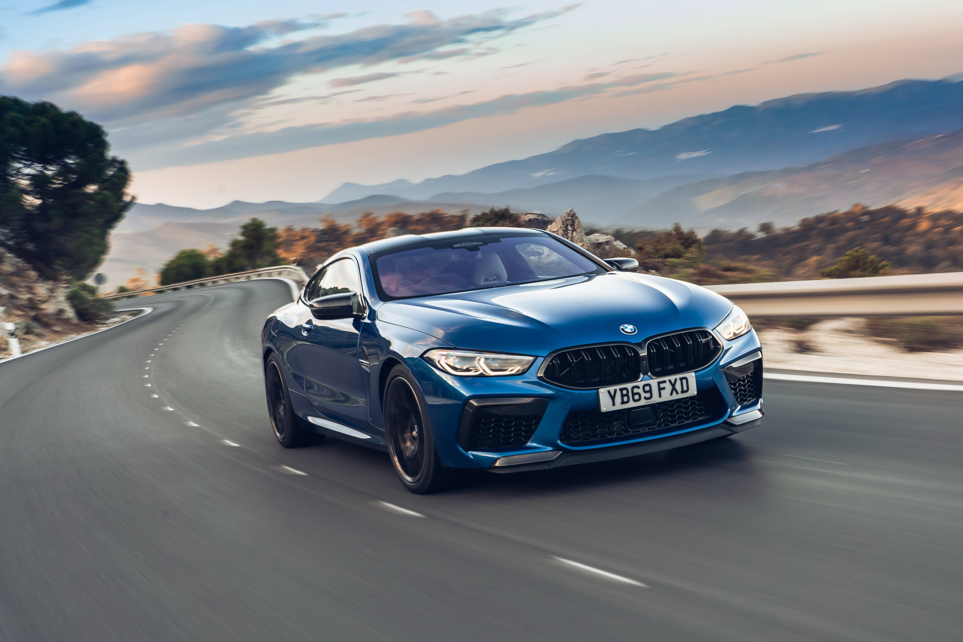 The new BMW M8 Competition Models UK 46