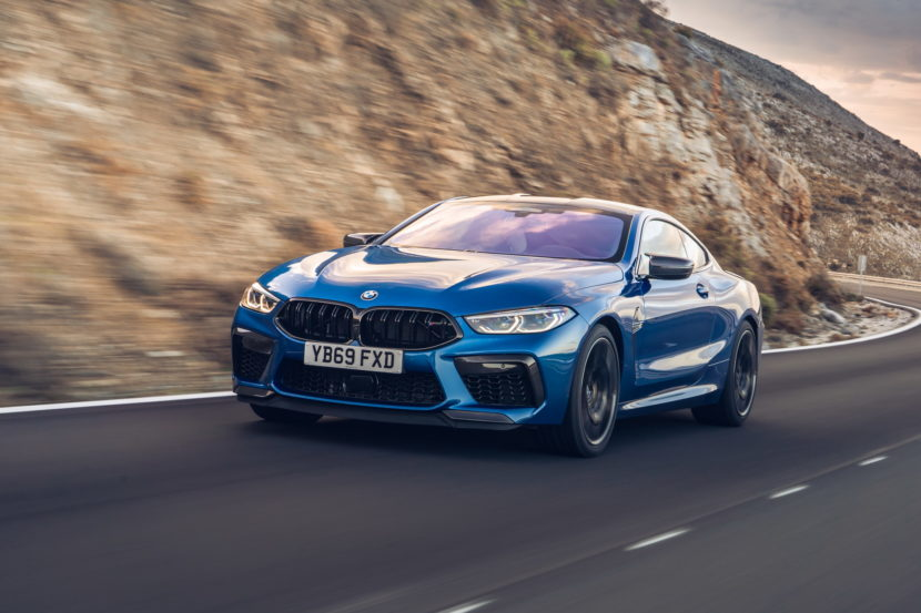 The new BMW M8 Competition Models UK 47 830x553