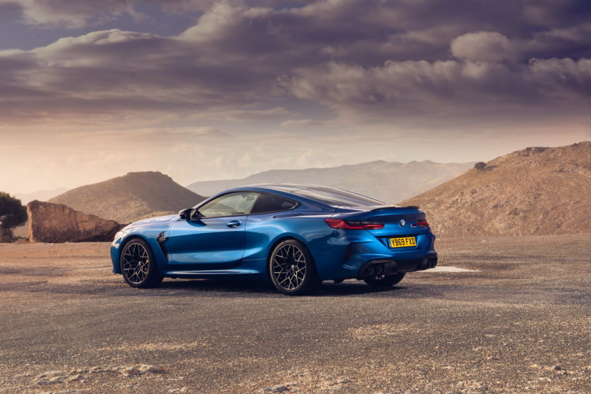 The new BMW M8 Competition Models UK 52 830x553