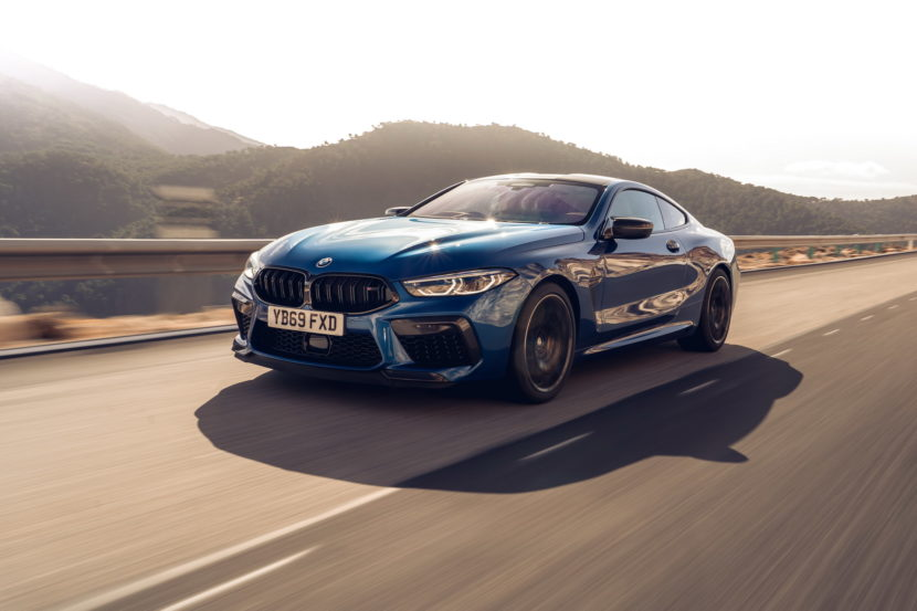 The new BMW M8 Competition Models UK 53 830x553