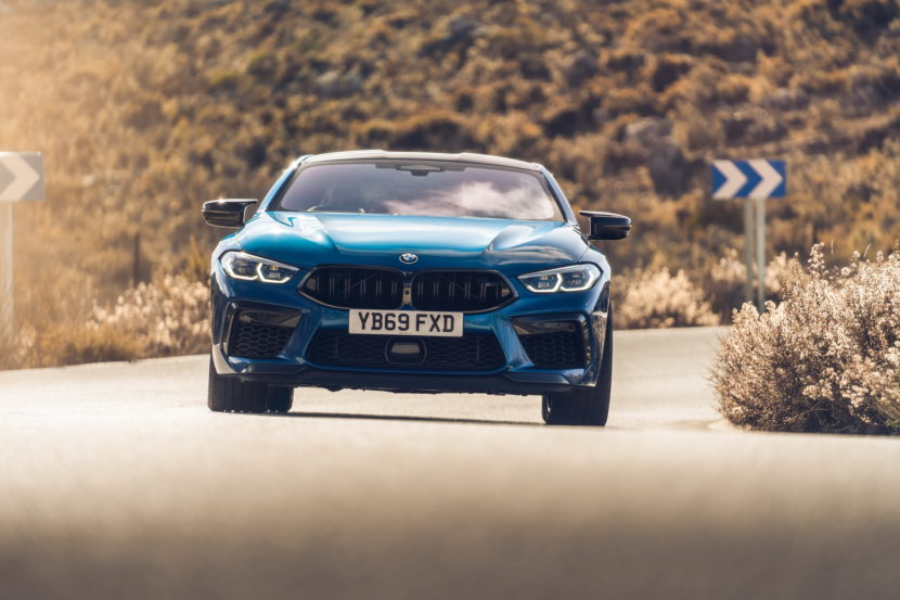 The new BMW M8 Competition Models UK 57 830x553