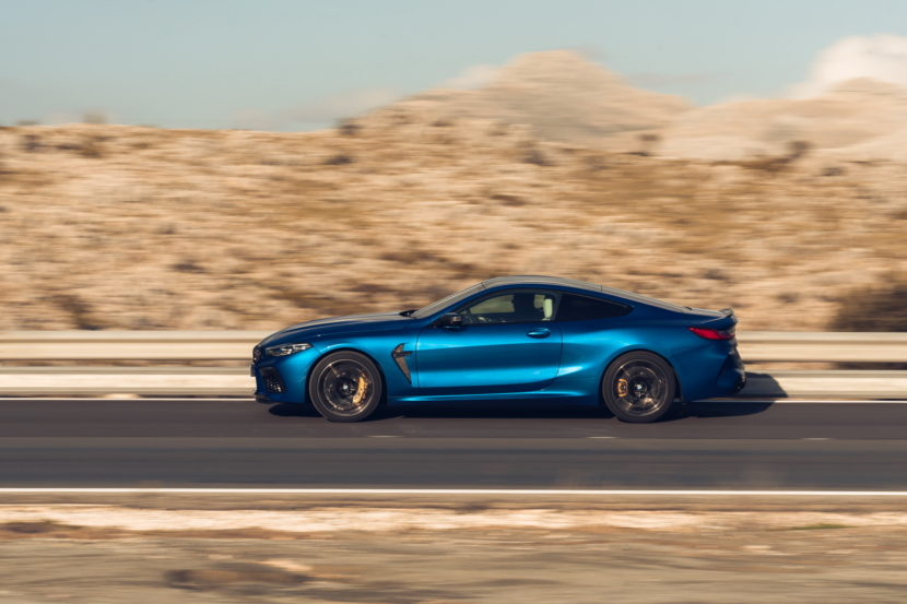 The new BMW M8 Competition Models UK 58 830x553