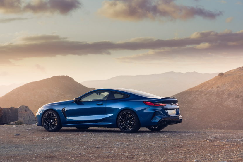 The new BMW M8 Competition Models UK 70 830x553