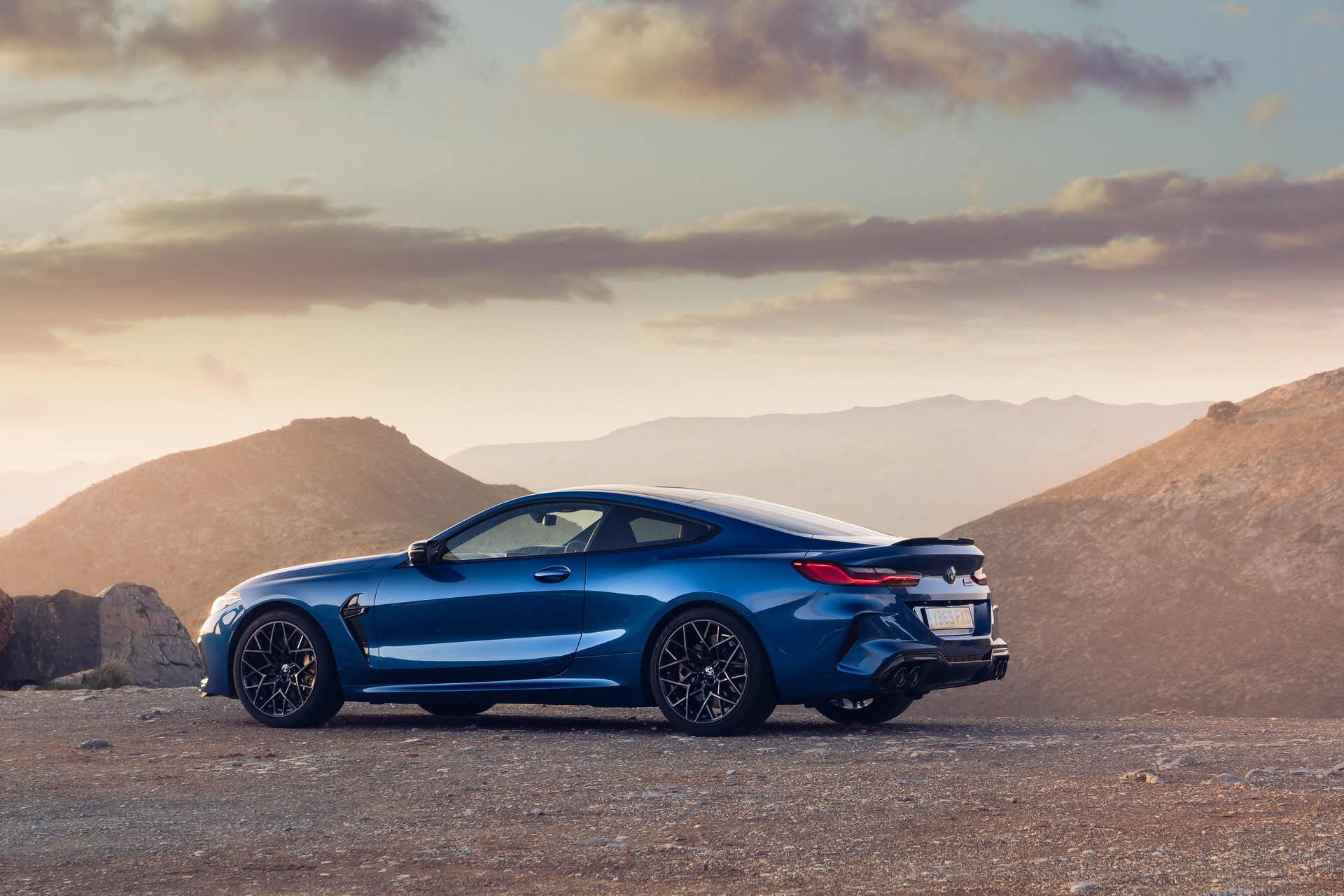 The new BMW M8 Competition Models UK 70