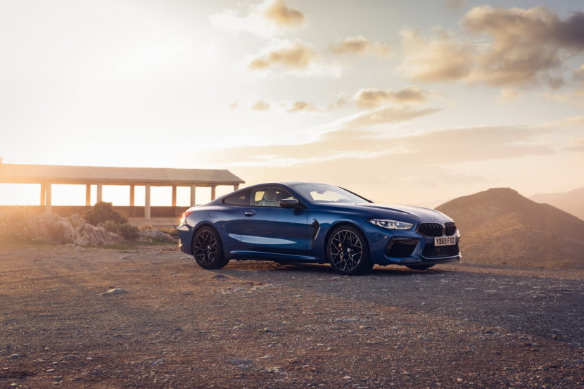 The new BMW M8 Competition Models UK 71 830x553