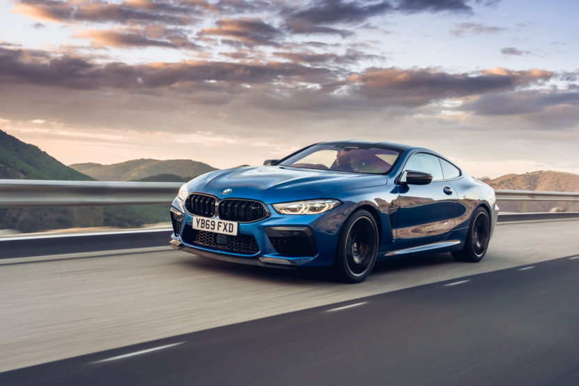The new BMW M8 Competition Models UK 74 830x553
