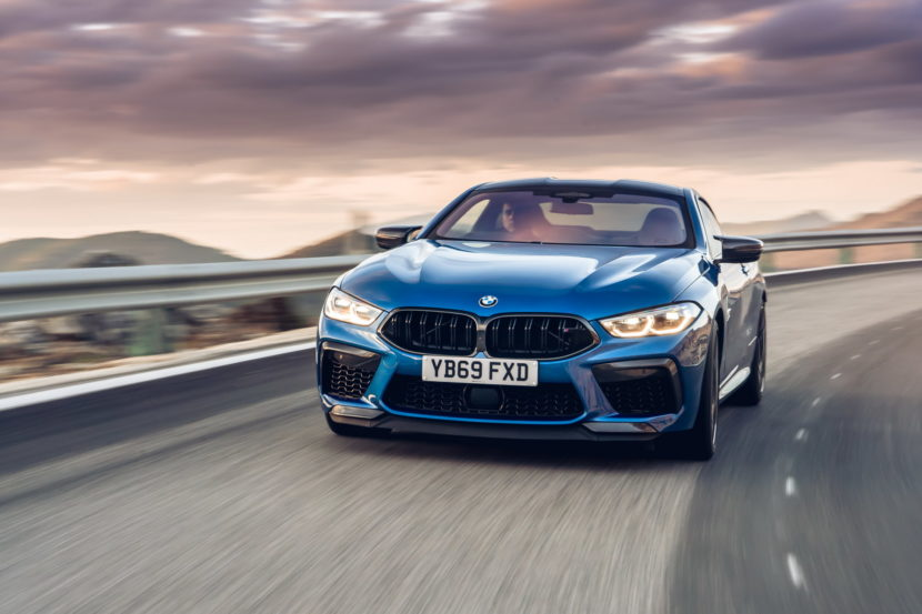 The new BMW M8 Competition Models UK 75 830x553