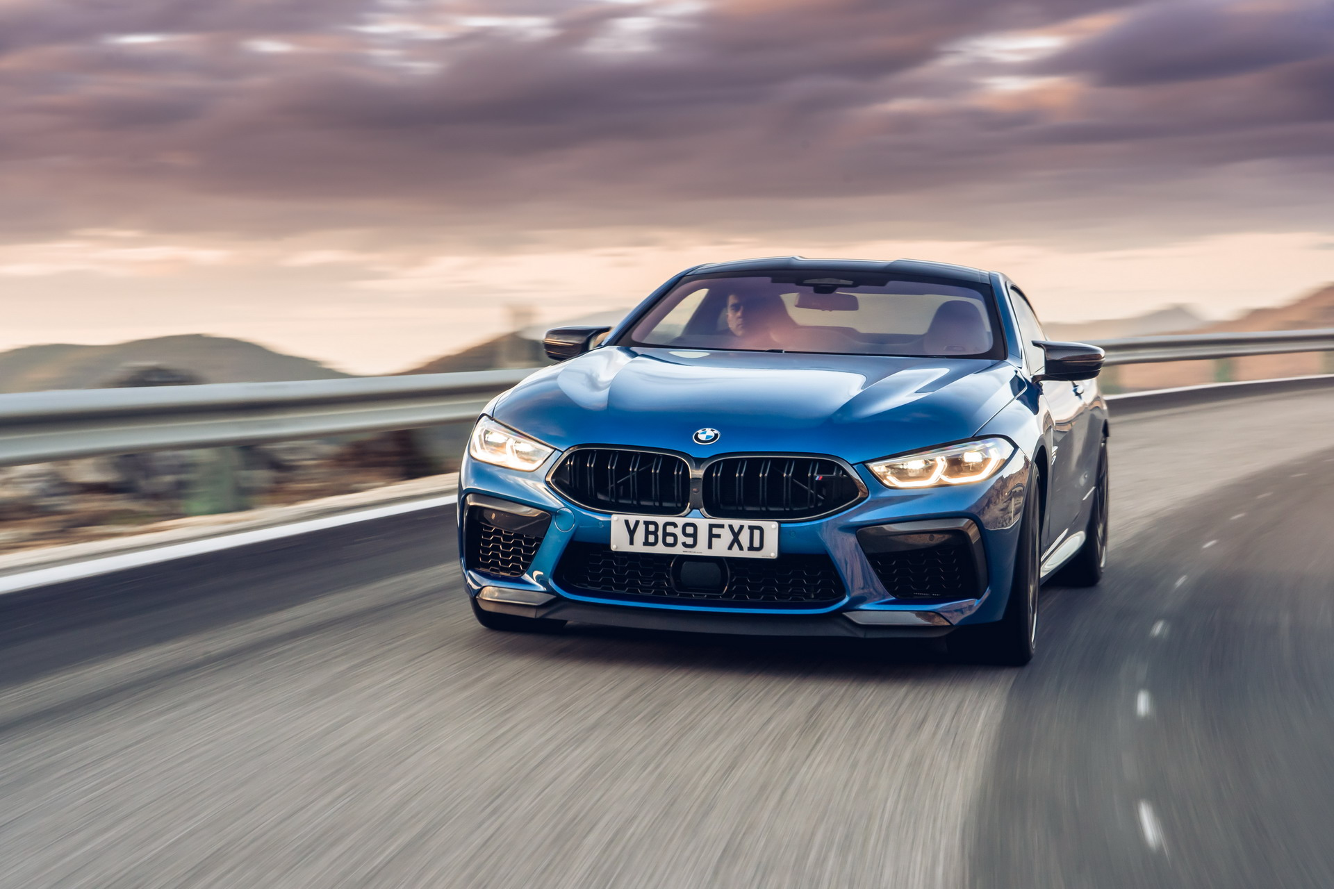 The new BMW M8 Competition Models UK 75