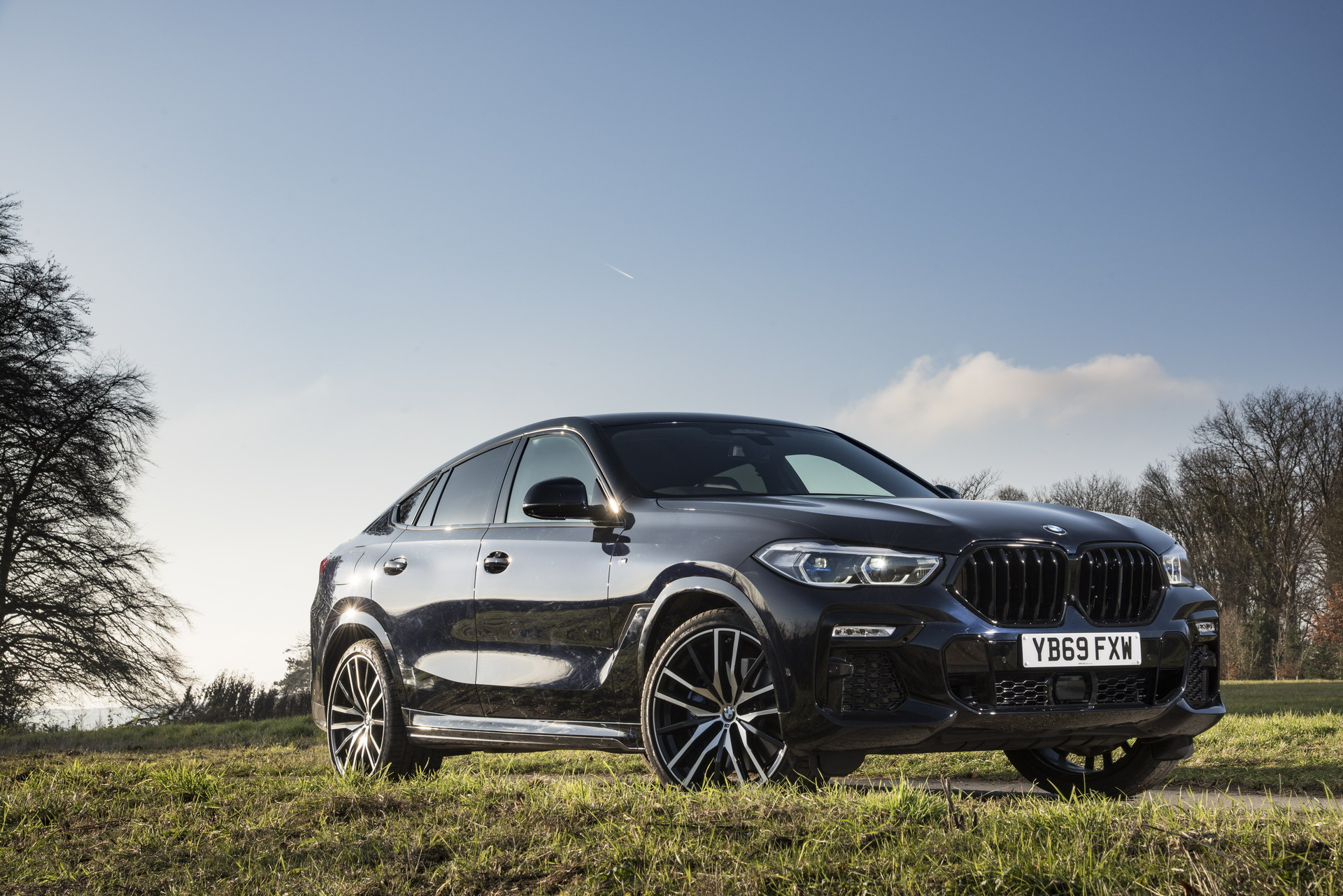 The New Bmw X6 Celebrates Market Introduction In The Uk