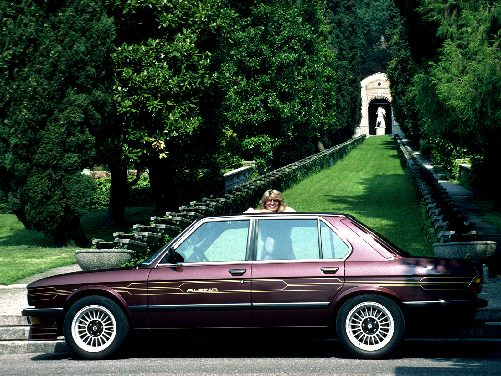 alpina historie E28 B7 Turbo 1