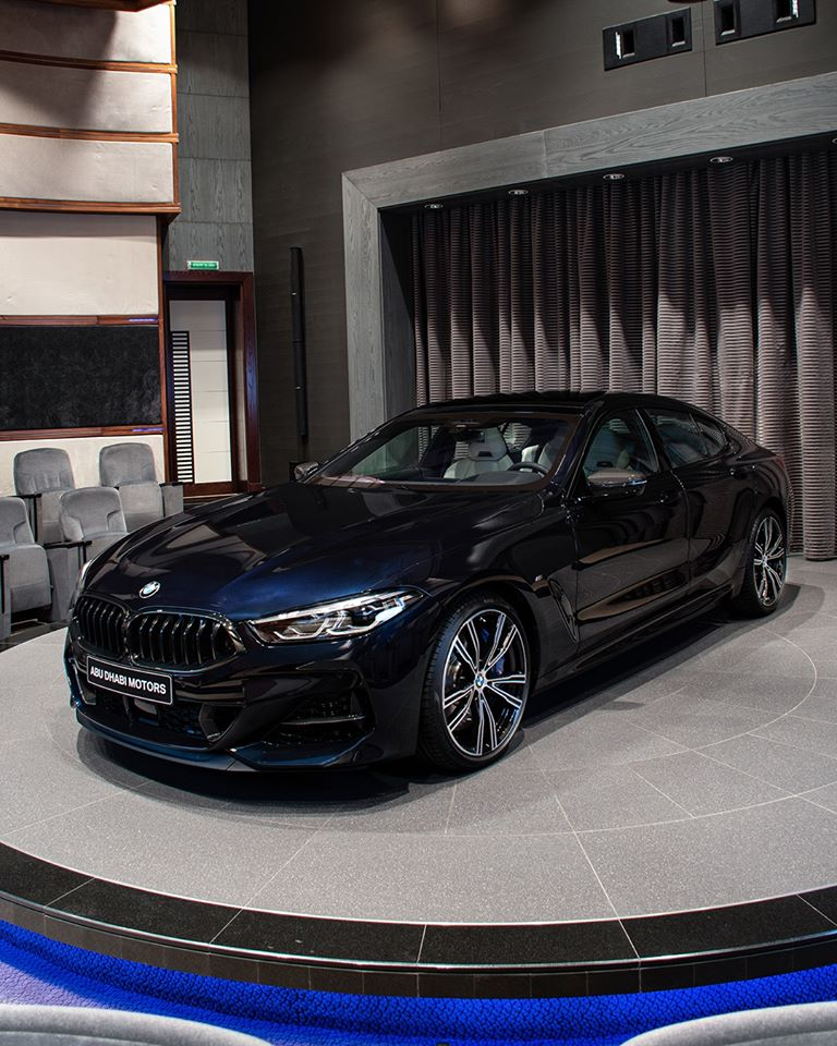 bmw m850i gran coupe carbon black metallic 2