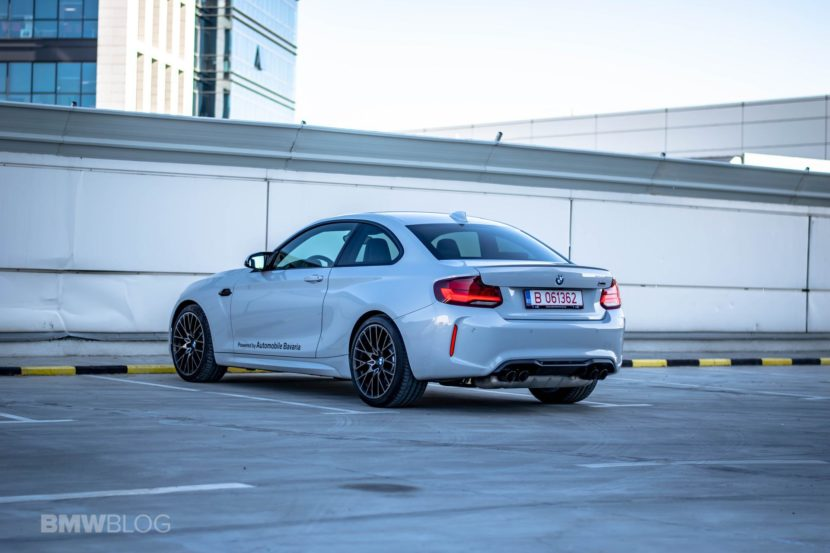 2020 BMW M2 Competition review test drive 53