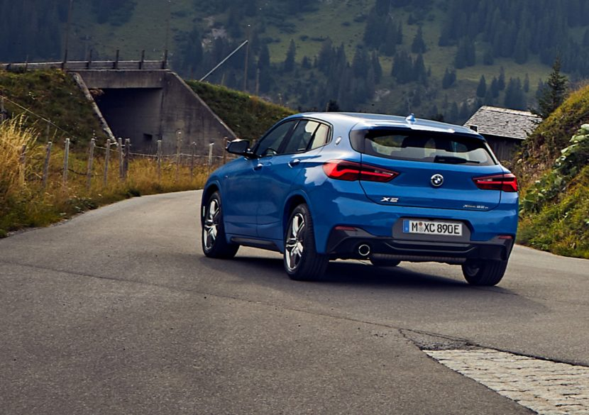 2020 BMW X2 LCI 3 830x585