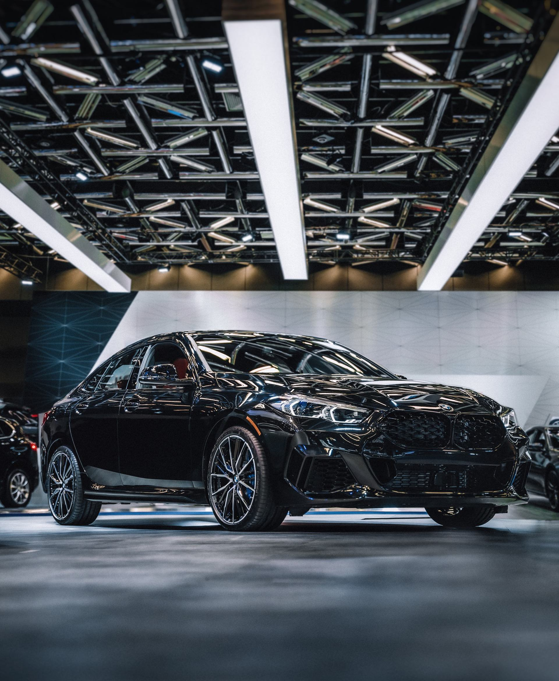BMW 2 Series Gran Coupe black color 02