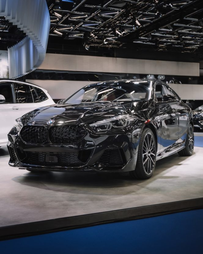 BMW 2 Series Gran Coupe black color 06 664x830